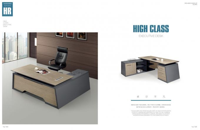 L Shape Executive Office Manager Desk With Side Return