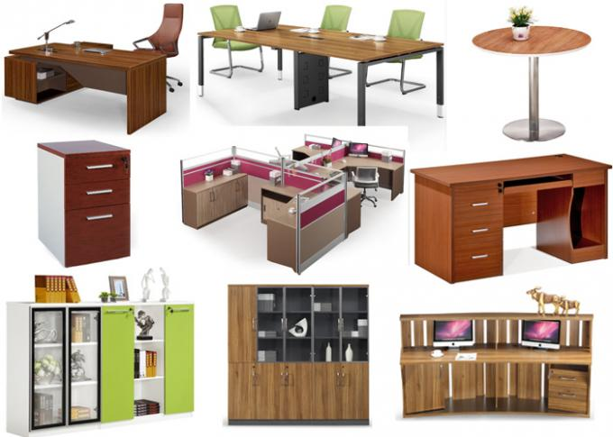 Four Doors Full Height Modern Office File Cabinets Customized Color And Size