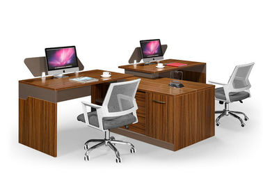 China MFC Modular Modern Computer Desk , Office Computer Table Free Combination supplier