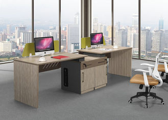 MFC Modular Modern Computer Desk , Office Computer Table Free Combination