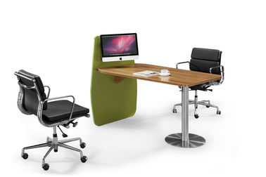 Office Employee Computer Workstation Furniture Face To Face Desk Strong Wearability