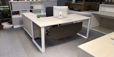 Popular Style Executive Desk With Side Table Modern Manager Desk Office Furniture
