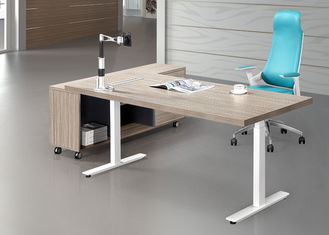 Height Adjustable Training Room Tables , Training Table Furniture 1800mm Length