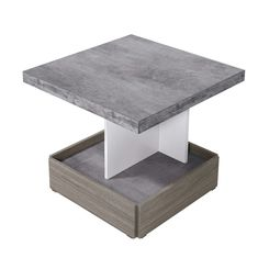 Wood Small Round And Square Modern Coffee Table For Hotel / Office