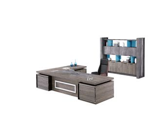 Dark Series Office Desk Furniture Executive Manager Room Set High Aesthetic Design
