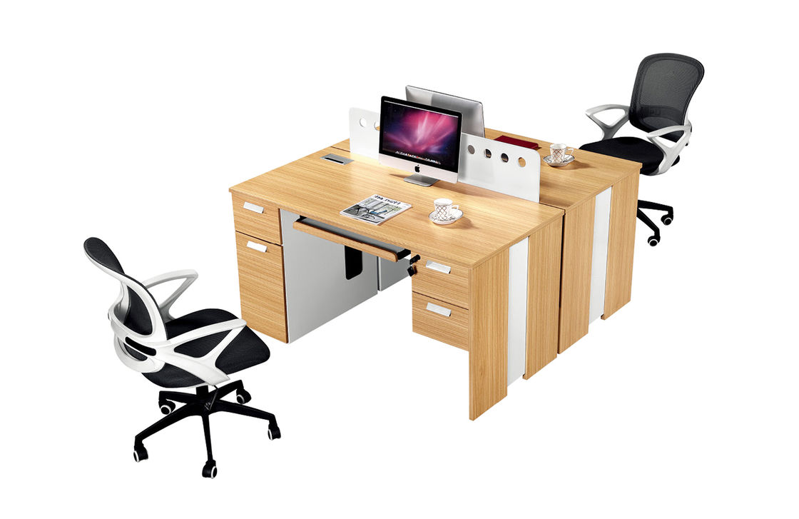 Picture of: Two Person Seat Office Workstation Desk Face To Face Type Office Furniture